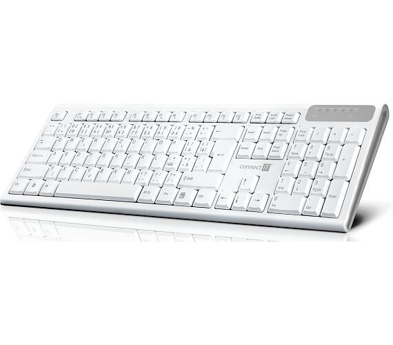 CONNECT IT Multimediální bezdrátová klávesnice