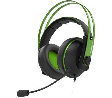 ASUS sluchátka Cerberus V2 gaming headset GREEN (90YH018G-B1UA00)