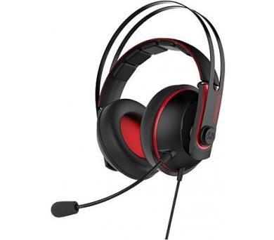 ASUS sluchátka Cerberus V2 gaming headset RED (90YH015R-B1UA00)