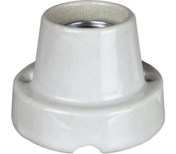 Instalační armatura porcelánová šikmá E27 malá