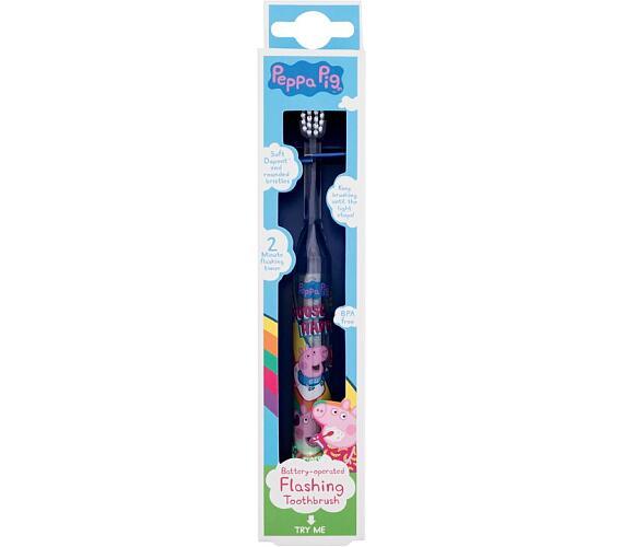 Dětská kosmetika Peppa Pig Battery-Operated Flashing Toothbrush