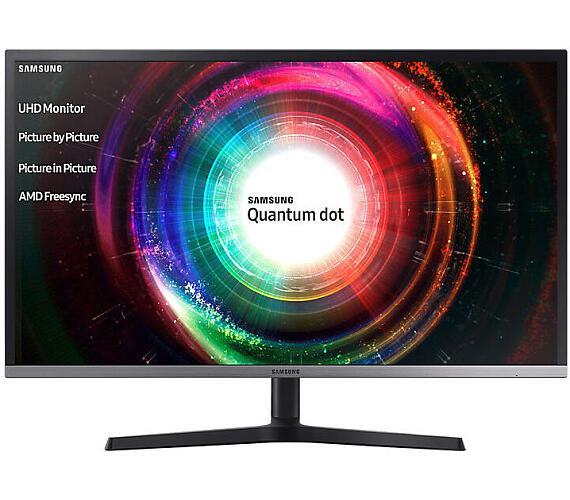 "Samsung LED LCD 32"" U32H850 16:9 VA/3840x2160/4ms/250 cd/m2/2xHDMI/mDP/DP/4xUSB3.0/USB Hub/Quantum dot (LU32H850UMUXEN)"