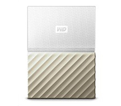 "WD My Passport ULTRA 1TB Ext. 2.5"" USB3.0 White/Gold"