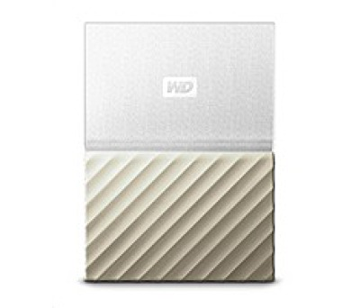 "WD My Passport ULTRA 2TB Ext. 2.5"" USB3.0 White/Gold (WDBFKT0020BGD-WESN)"