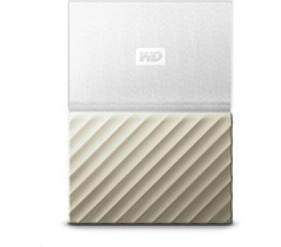 "WD My Passport ULTRA 3TB Ext. 2.5"" USB3.0 White/Gold (WDBFKT0030BGD-WESN)"