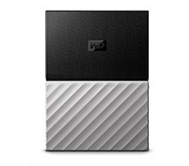 """WD My Passport ULTRA 3TB Ext. 2.5"""" USB3.0 Black/Grey (WDBFKT0030BGY-WESN)"""