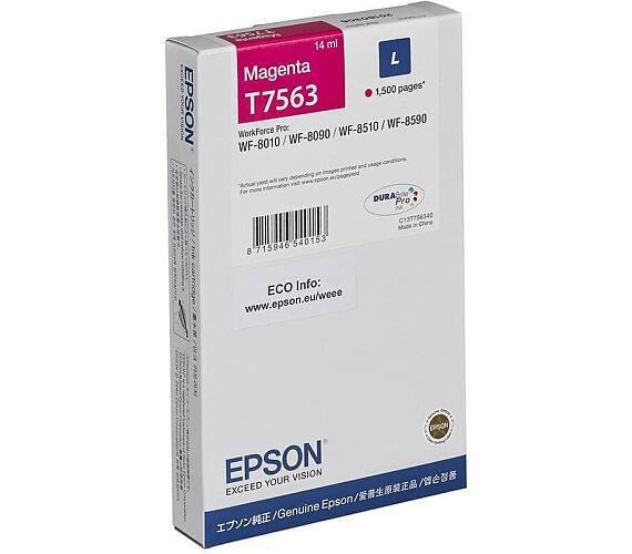 Epson inkoust WF8000 series magenta L - 14ml (C13T756340) + DOPRAVA ZDARMA