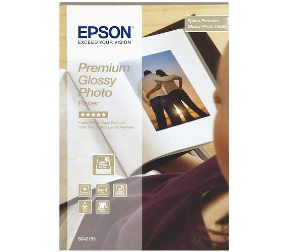 Epson papír Premium Glossy photo