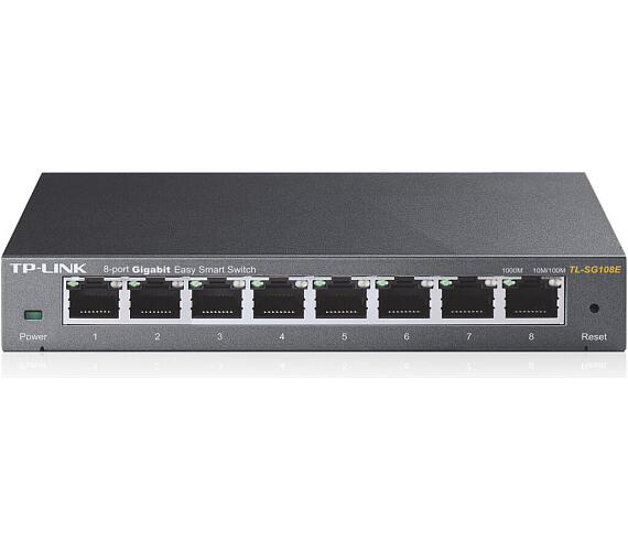 TP-Link TL-SG108E - 8-Port Gigabit Desktop Easy Smart Switch + DOPRAVA ZDARMA