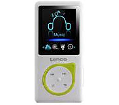 LENCO Xemio 657 - green - MP3/MP4 přehrávač