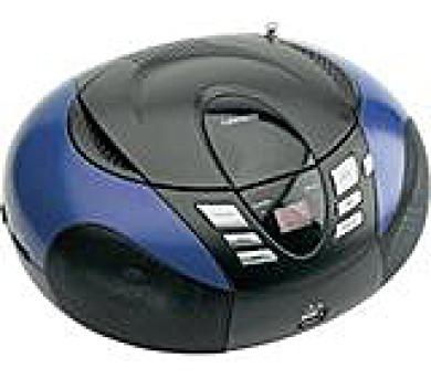LENCO SCD-37 USB Blue - přenosný CD/MP3 přehrávač