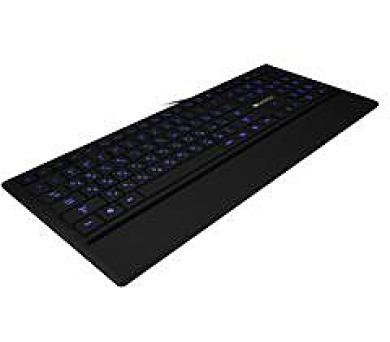 Canyon podsvícená pogumovaná USB klávesnice