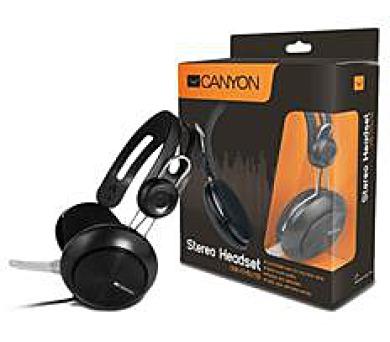 CANYON klasický USB headset