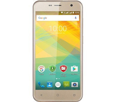 "PRESTIGIO - 1GB/8GB 5.0"" IPS (1280x720) QuadCore 1.3GHz cam 8+2 Mpx 2000mAh dual Android 6.0 zlatá"