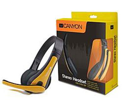 CANYON lehký PC headset