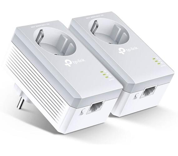 TP-Link Powerline ethernet TP-Link TL-PA4010P Starter Kit (2ks) nano adaptér (500 Mbps) (TL-PA4010PKIT) + DOPRAVA ZDARMA
