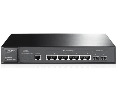 TP-Link T2500G-10TS(TL-SG3210) JetStream™ 8x 10/100/1000 + DOPRAVA ZDARMA