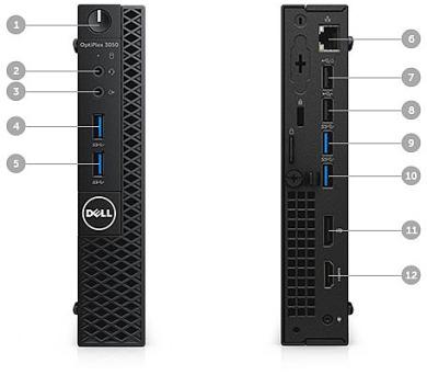 DELL OptiPlex MFF 3050 Core i3-7100T/4GB/128GB SSD/Intel HD/Win 10 Pro 64bit/3Yr NBD + DOPRAVA ZDARMA