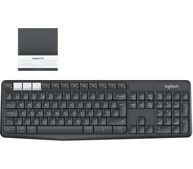 Logitech klávesnice K375s + stojan na mobil/tablet