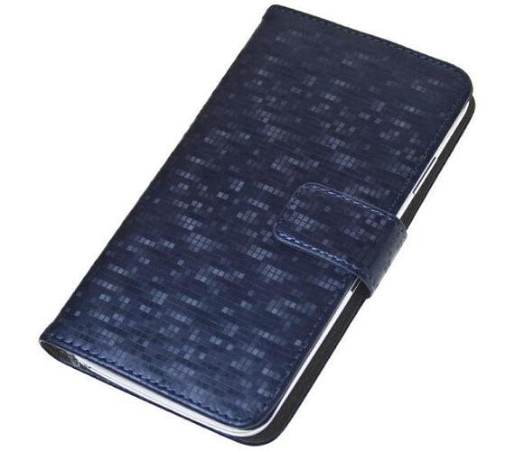 """Aligator Pouzdro BOOK GLAMMY XL (5""""- 5,5"""") Blue (PBOGLAXLBE)"""
