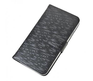 """Aligator Pouzdro BOOK GLAMMY XL (5""""- 5,5"""") Grey (PBOGLAXLGY)"""