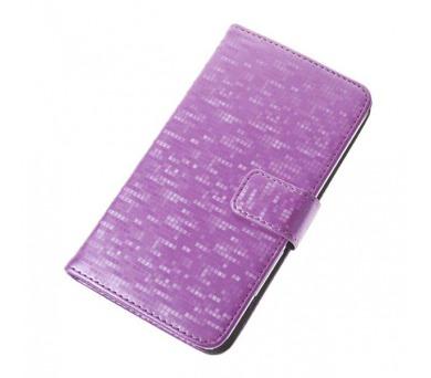 "Aligator Pouzdro BOOK GLAMMY XL (5""- 5,5"") Pink"