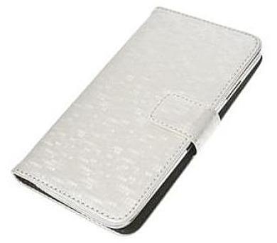 """Aligator Pouzdro BOOK GLAMMY XL (5""""- 5,5"""") White (PBOGLAXLWH)"""