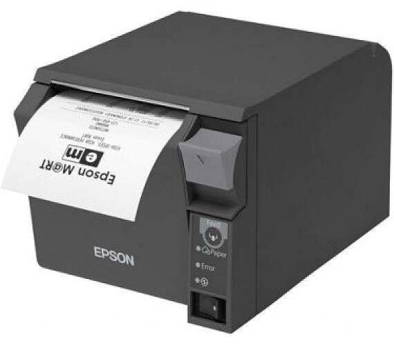 EPSON pokl.termo TM-T70II,černá,WiFi.+USB,zdroj + DOPRAVA ZDARMA