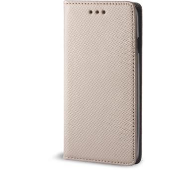Pouzdro s magnetem Samsung G900 S5 gold