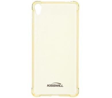 Kisswill Shock TPU Pouzdro Gold pro Sony F3311 Xperia E5
