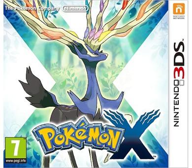 3DS - Pokemon X + DOPRAVA ZDARMA