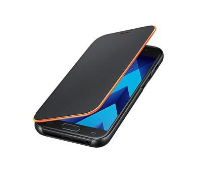 Samsung Flipové neonové pouzdro pro A3 2017 Black (EF-FA320PBEGWW)