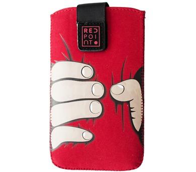 Pouzdro RedPoint Velvet Red Hand velikost 5XL
