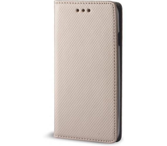 Pouzdro s magnetem Huawei P10 Lite Gold