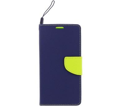 Fancy Diary Book Pouzdro Navy/Lime pro Huawei P8/P9 Lite 2017