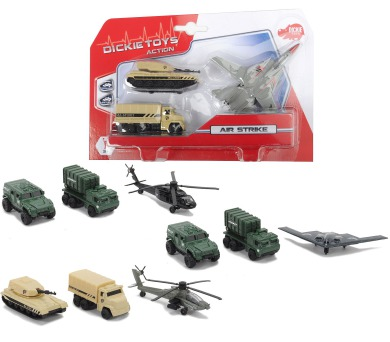 Air Strike vojenská technika set