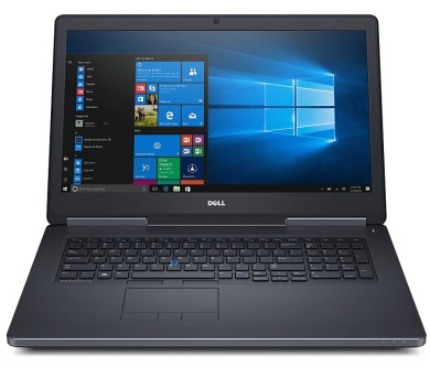 "DELL Precision M7720/ i7-6820HQ/ 16GB/ 256GB SSD+1TB / Quadro P3000 6GB/ 17.3"" FHD/ W7Pro (W10P+downg)/ 3YNBD on-site"