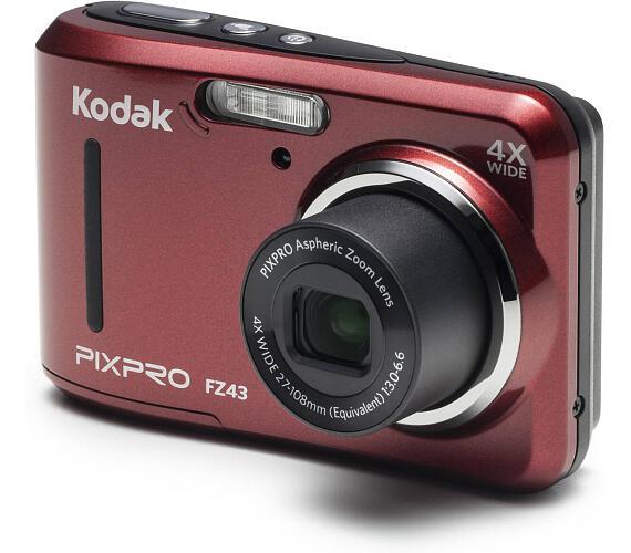 Kodak FriendlyZoom FZ43 Red + DOPRAVA ZDARMA