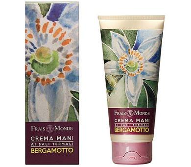 Péče o ruce Frais Monde Hand Cream Thermal Salts Bergamot