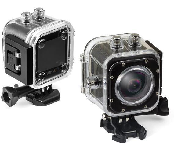Technaxx digitální kamera FullHD 360 ° Panorama & VR + DOPRAVA ZDARMA