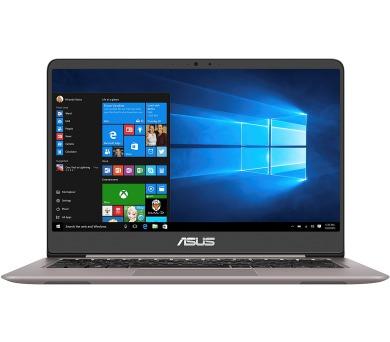 "ASUS ZenBook RX410UA - 14""/i3-7100U/256SSD/4G/W10 šedý"