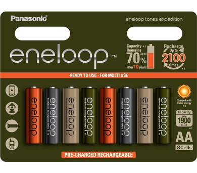 HR6 AA 3MCCE/8RE 1900mAh Expedition pack Panasonic