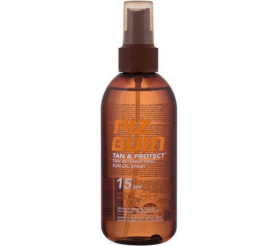 Kosmetika na opalování Piz Buin Tan & Protect Tan Accelerating Oil Spray SPF15