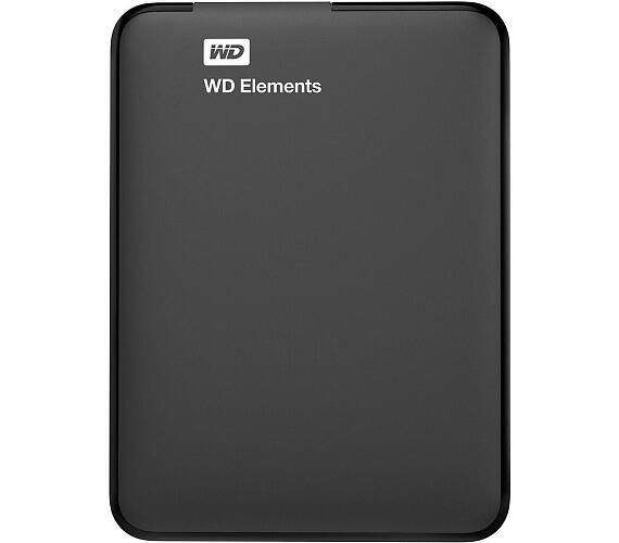 """Ext. HDD 2.5"""" WD Elements Portable 4TB USB (WDBU6Y0040BBK-WESN)"""