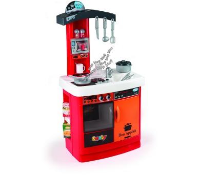 Kuchyňka Bon Appetit červená elektronická + DOPRAVA ZDARMA