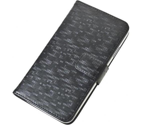 """Aligator Pouzdro BOOK GLAMMY XXL (5,5""""-6"""") Black (PBOGLAXXLBK)"""