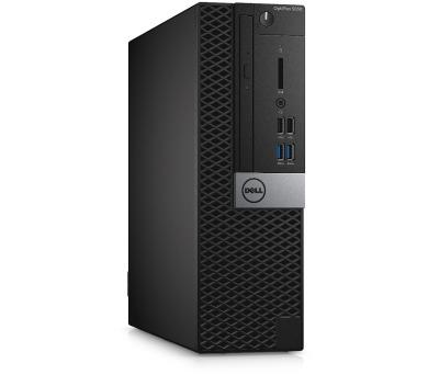 Dell PC Optiplex 5050 SF i5-6600/4G/1TB/DP/HDMI/W10P/5rNBD PrSu + DOPRAVA ZDARMA