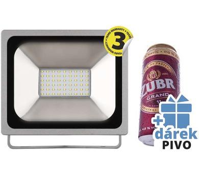LED reflektor PROFI 30W neutrální bílá + 6x pivo ZDARMA + DOPRAVA ZDARMA