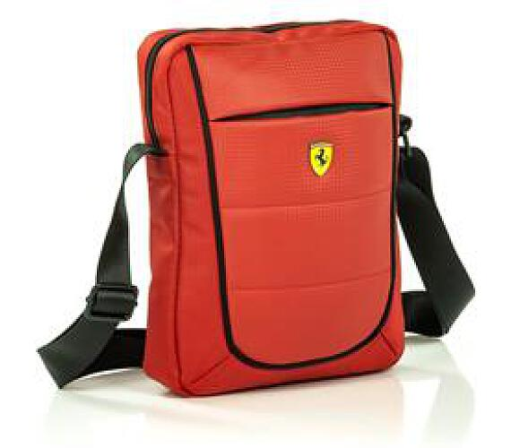 """Ferrari Scuderia Universalní Pouzdro pro Tablet 10"""" Red/Black"""
