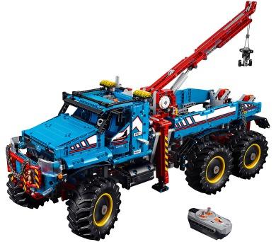 LEGO Technic 42070 Terénní odtahový vůz 6x6 + DOPRAVA ZDARMA